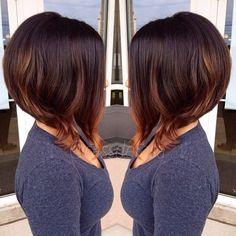 30 Ombré Hair Sur Cheveux Courts Tendance 2015   Coiffure simple et facile