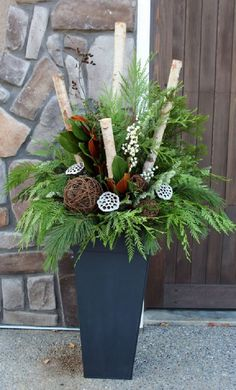 Learn how to make winter garden planters and remind yourself of the bond we have with nature. Easy container recipes, tips and tricks.