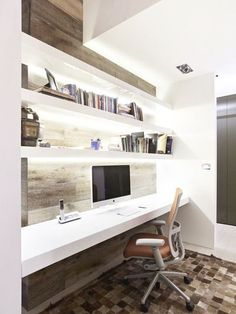 Like the shelving instead of cupboards/compartments and all the lighting