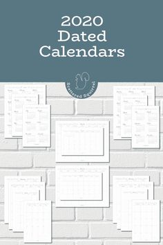 Get your planner ready with these free printable, dated 2020 calendars come in both full and half-size with your choice of a Sunday or Monday start day. Printable Calendar Pages, Print Calendar, Free Printable Calendar, Free Printables, Calendar Ideas, Calendar 2020, Bullet Journal Monthly Calendar, Monthly Planner, Happy Planner