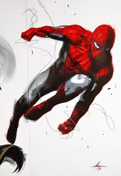 #Spiderman #Fan #Art. (Spiderman) By: Gabriel DellO'tto. (THE * 5 * STÅR * ÅWARD…