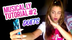 Musical.ly Tutorial Part #2 Making Duets! :) | Baby Ariel