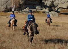 Gorkhi-Terelj National Park Horse Riding Expedition Mongolia - 21-30 September 2015