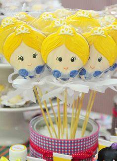 festa princesas - blog andreaalves - pirulitos de sao martinho!