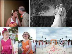 Actual wedding at Ocean Coral