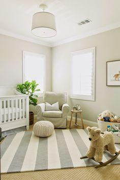 The HONEYBEE: Luca's Neutral Nursery #NurseryRugs