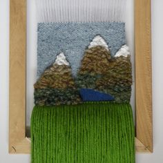 #woven #wallhanging #wovenwallhanging #weaving #mountain #mountains #nature #art #landscape #etsy #gift #giftideas