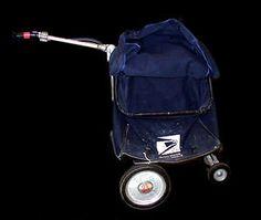 Satchel delivery cart