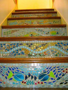 Shop our selection of Mosaic Tile in the Flooring Department at The Ceramic-Tile4u #glasstile #Homedecor #Tiles