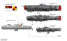 Warhawks- Lusivakian Airships by on DeviantArt Concept Ships, Concept Art, Alien Concept, Steampunk Ship, Science Fiction, Valkyria Chronicles, Spaceship Art, Tecno, Alternate History