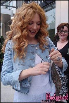 curly red hair, again