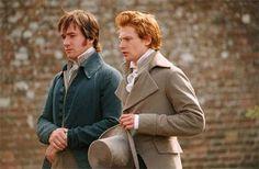 Mr Darcy and Mr Bingley.