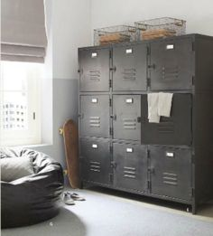 Rafa-kids : Industrial storage ideas for children's room