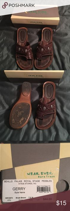 Sandals Brown sandals. Very comfortable! Bare Traps Shoes Sandals