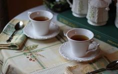 Two Old Sisters Share a Cottage Coffee Cups, Tea Cups, Coffee With Friends, English Country Cottages, Irish Cottage, The Best Is Yet To Come, Coffee And Books, Treasure Boxes, Color Themes