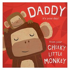 Buy Cardmix Monkey Father's Day Card Online at johnlewis.com