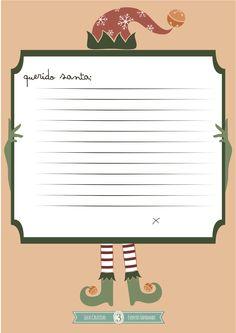 Gratis 3 descargables para escribirle la carta a santa!!!!!!!!!!