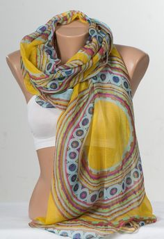 NEW Oversize Scarf or shawl. Holiday beach pareo by scarfstore2012, $18.90