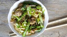 Asian Rice Noodles - QueRicaVida.com