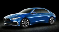 Mercedes Concept A Sedan Gets Rendered Into Production