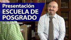 Manuel Pulido: Presentación de la Escuela de Posgrado, UFM