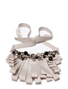 Style Butler Grosgrain Necklace