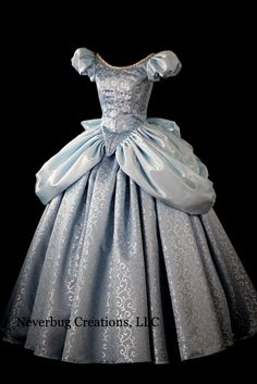 Modern Cinderella Gown, Cinderella Cosplay