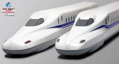 JR Tokai exibe novo design de série de Shinkansen