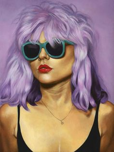 """By Johannah O""""Donnell. """"Here's a photo of my painting for CONTEMPORARY CONTEMPORARY, opening Saturday night at Gauntlet Gallery in SF!The theme of the show i..."""
