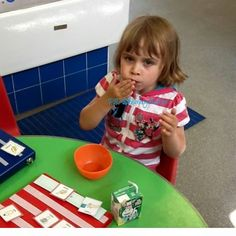 This picture popped up on my phone this morning on an app I use that shows past posts to Facebook over the years. This was 2 years ago when Eliza did a settling in session at school in her transiti…