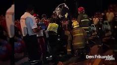 Un accidente de transito sucedio en la via Cali - Palmira, Colombia