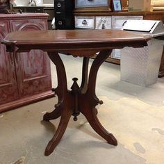Eastlake Victorian Table.