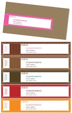 11 Best Mailing Labels Images