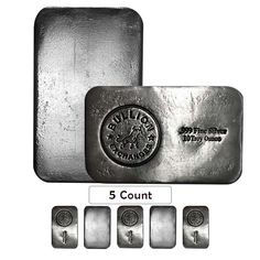 Coins & Paper Money Candid Hand Poured Ingots