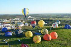 Ballooning in Alentejo, Portugal