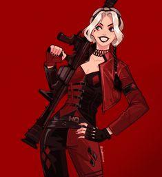 Dc Comics Women, Dc Comics Girls, Harley Quinn Cosplay, Joker And Harley Quinn, Comic Character, Character Design, Gotham Girls, Dc Memes, Dc Characters