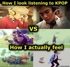 Listening to KPOP... | allkpop Meme Center