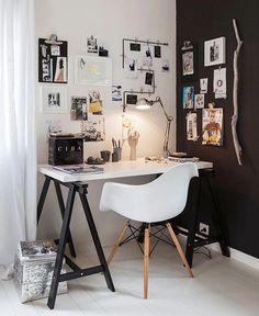 Trestle desk - b