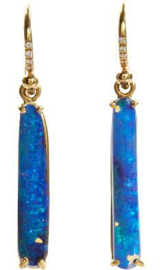 Irene Neuwirth Boulder Opal Long Earrings