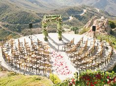 Get your guests in formation with one of these unique ceremony setups.