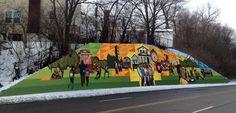 Meet the new murals, starring Ezzard Charles, James Brown Cincinnati Art, Charles James, James Brown, Art Therapy, Public Art, Murals, Artworks, Meet, Community
