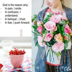 Bible Verses Quotes Inspirational, Beautiful Collage, God Is Good, Morning Quotes, Friendship Quotes, Qoutes, Table Decorations, Collages, Spiritual