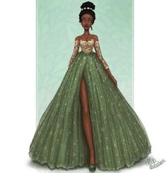 Tiana by MidaIllustrations