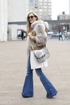 flares and fur