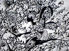 Stunning Fairy Paper Cutting Art by Hina Aoyama.