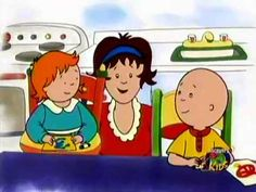 "Caillou's Holiday Movie ""Part 2 (of 5)"" English"