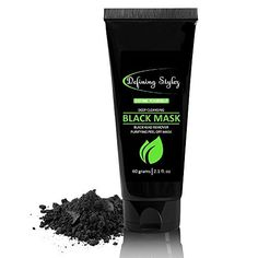 Defining Stylez Deep Pore Cleansing Black Mask - Peel Off Mask - Organic Activated Charcoal, Fights Acne, Oil Control, Blemishes And Anti-Aging Wrinkle Reduction For Face And Body Skin by Defining stylez, http://www.amazon.com/dp/B07256HBGX/ref=cm_sw_r_pi_dp_x_Ai4nzbHCBEKH8