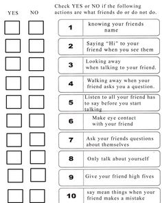 How to be a good friend Love this to teach the kids at school!
