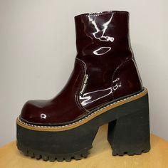 Funky Shoes, Cute Shoes, Me Too Shoes, Heeled Boots, Shoe Boots, Shoes Heels, Swag Shoes, Dream Shoes, New Wardrobe
