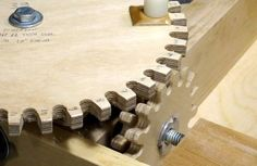 How to make wooden gears! This will help with my pin on building a wooden lathe machine.